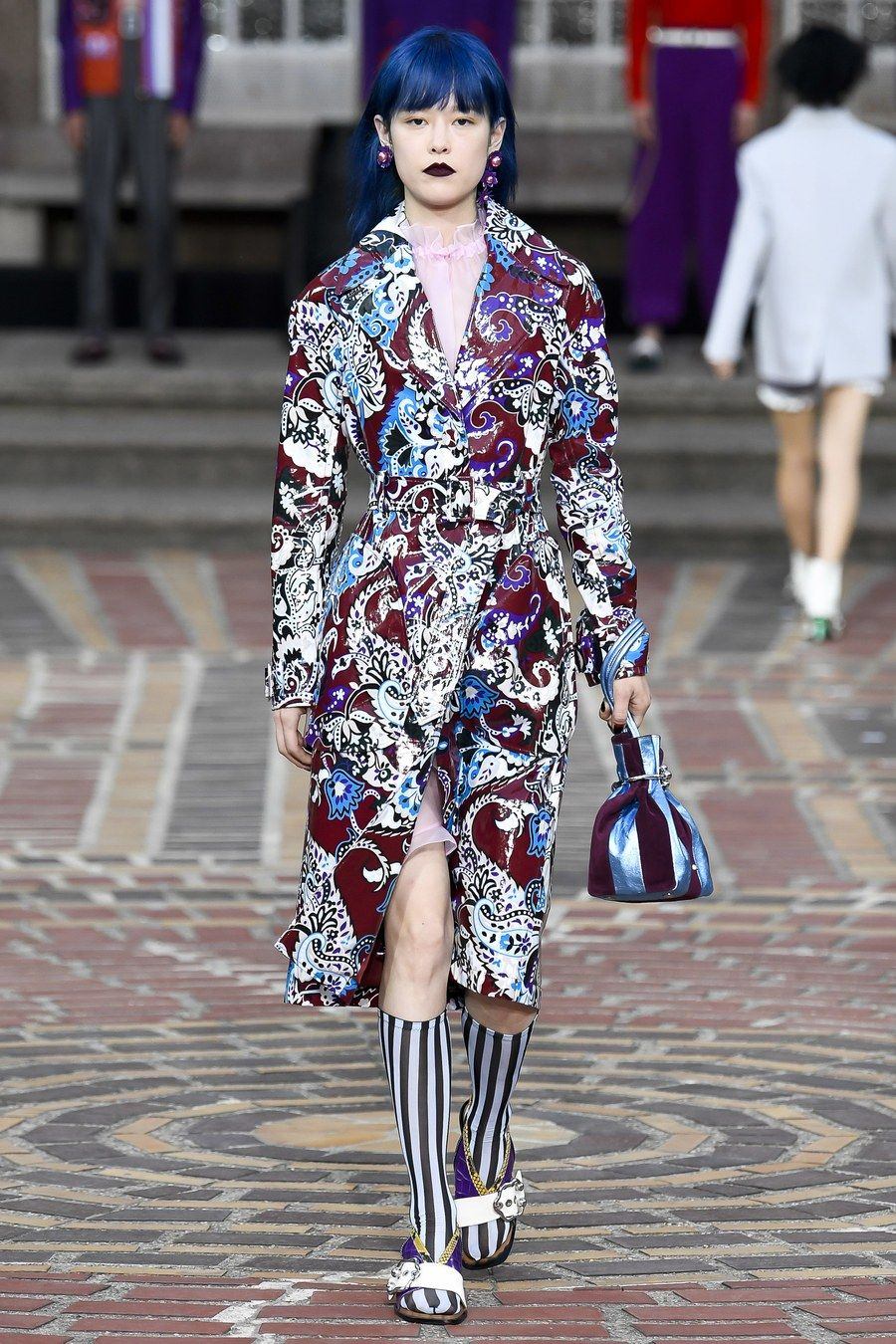 Fashion week Spring kenzo runway review for woman