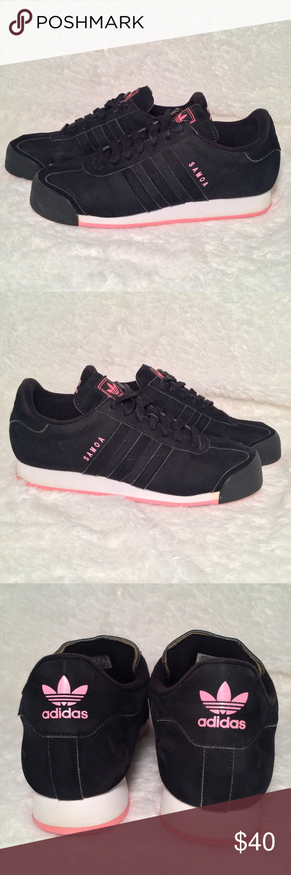 179bb2f85075ee Women s Adidas Samosa Sneakers Size 9.5 In great condition. There is a  small crack in