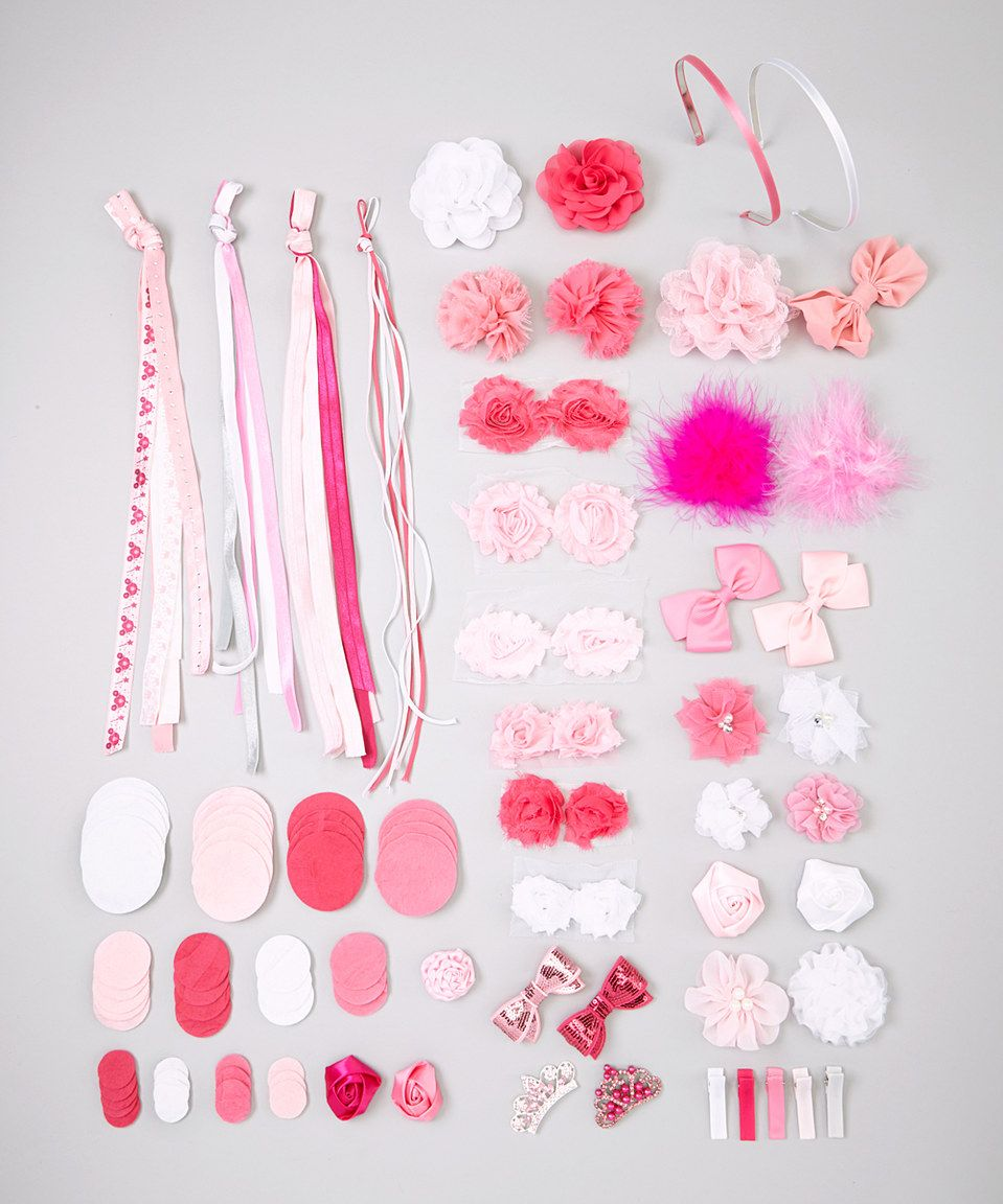 Look what I found on #zulily! My Sunshine Shoppe Pink Princess Half Pint Hair Accessory Kit by My Sunshine Shoppe #zulilyfinds
