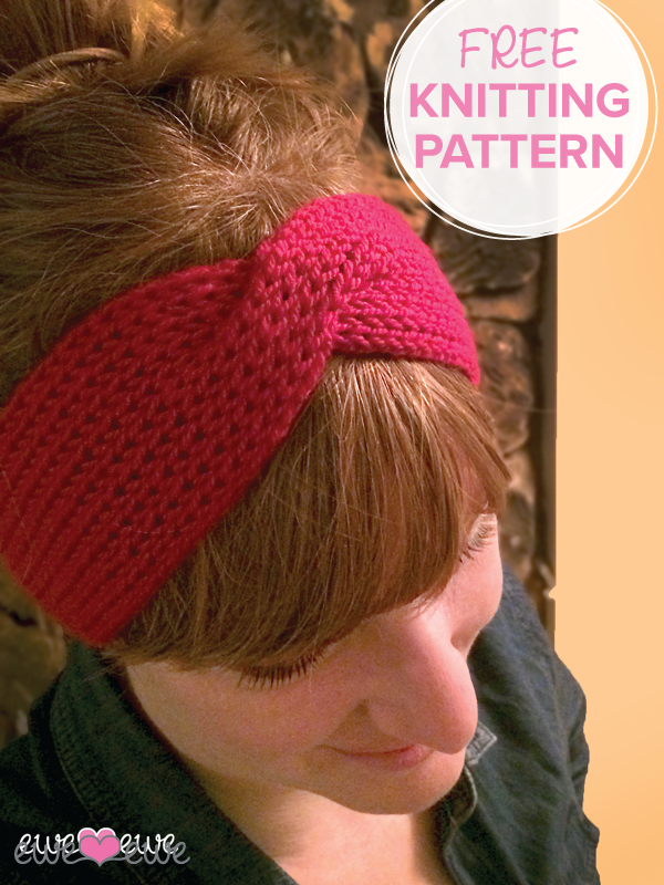Hotmessheadbandfreepatterng Knit Patterns Pinterest Hot