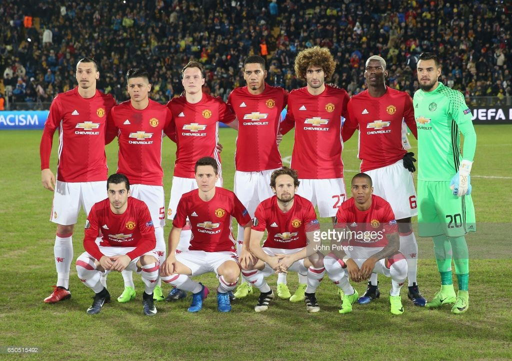 Rostov V Manchester United Uefa Europa League Round Of 16 First Leg Photos And Premium High Res Pictures Manchester United Manchester United Team Europa League