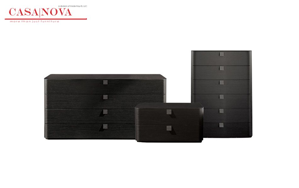 Bedside table and dresser in dark oak, matt and high gloss lacquered. FOR INQUIRY CALL US at  971 434 74577,  971 433 86180,  971 433 47782 http://casanovadubai.com/