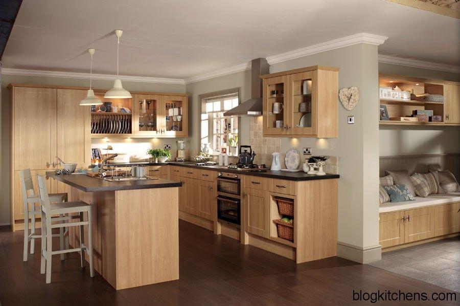 Modern Light Wood Kitchen Cabinets | Kitchen Design Ideas Blog