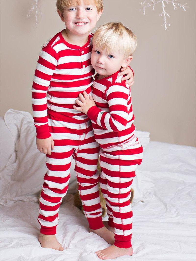 Hatley Candy Cane Stripe Pajamas Striped Pyjamas Candy Cane Stripes Pajamas
