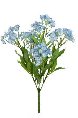 Artificial forget me not bush wedding pinterest floral artificial forget me not bush mightylinksfo