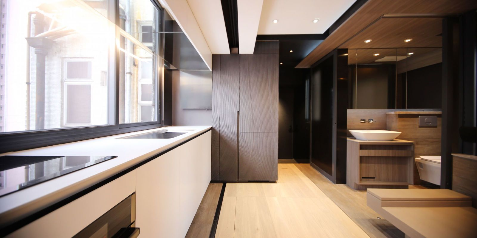 Inside A 300-Square-Foot Apartment With A Gym And Home Theater ...