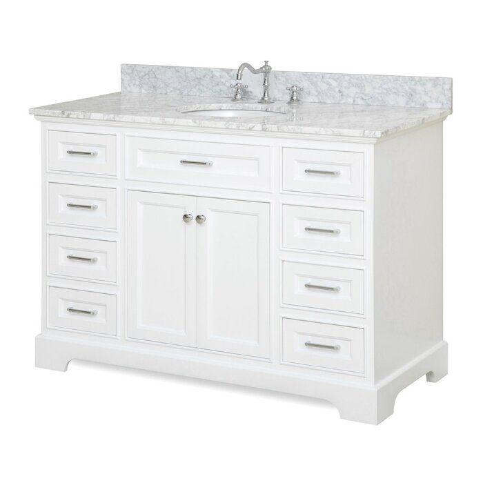 Photo of Kingon 48″ Single Bathroom Vanity Set