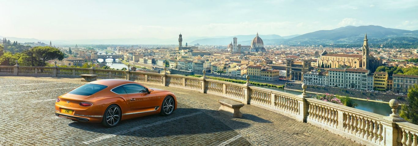First Edition New Continental Gt 2017 In Orange Flame Colour