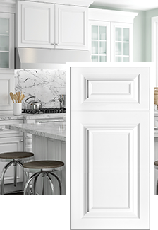 Brookfield Pacific White | Home Decorators Cabinetry