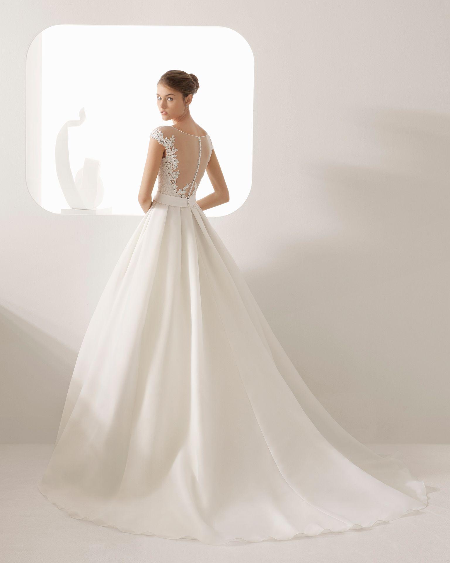 91058f85fb35 ANNE - sposa 2018. Collezione Rosa Clará in 2019