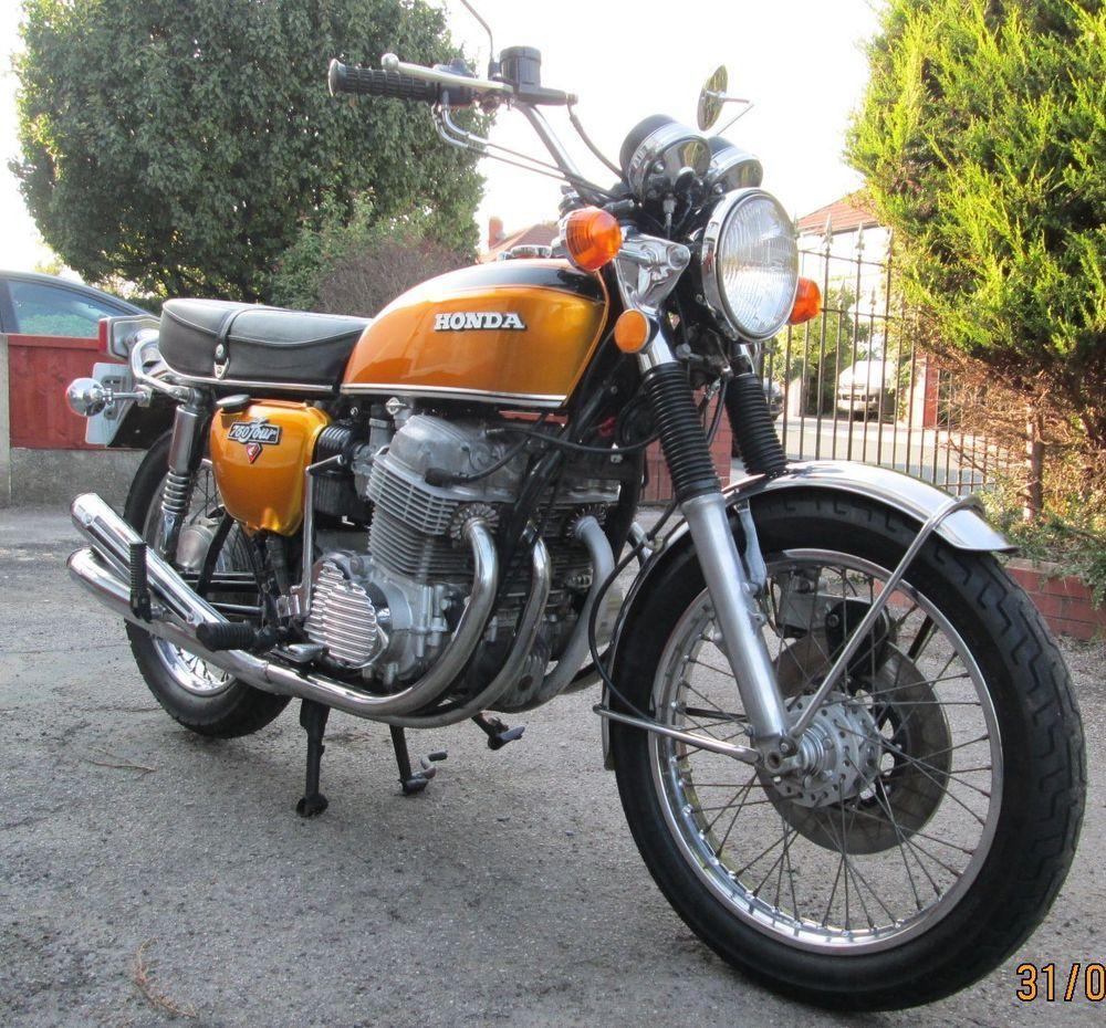 Ebay Honda Cb750 K1 1971 Manufactured But Registered 1972 Honda Cb750 Cafe Racer Motorcycle Honda