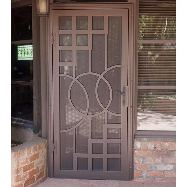 Nouveau First Impression Security Doors Security Screen Door Door Design Doors