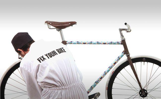 Fahrradrahmen Bekleben Tolle Idee Und Verrückte Muster Fix Your