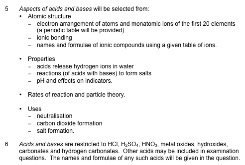 Sections 5 and 6 of the explanatory notes for ncea level 1 science sections 5 and 6 of the explanatory notes for ncea level 1 science achievement standard 15 as90944 demonstrate understanding of aspects of acids and urtaz Images