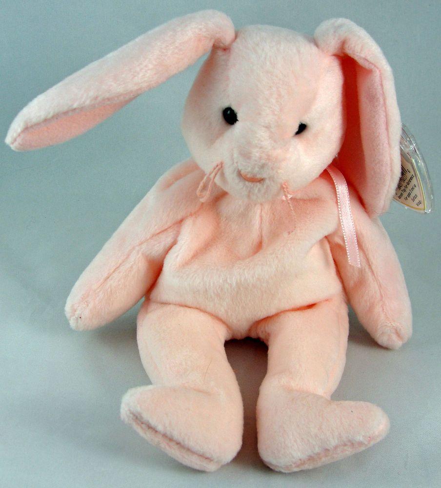 cedc4a65b5a Ty Beanie Baby HOPPITY the Rabbit Bunny 8