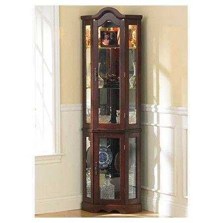 Wildon Home ® Caldwell Curio Cabinet