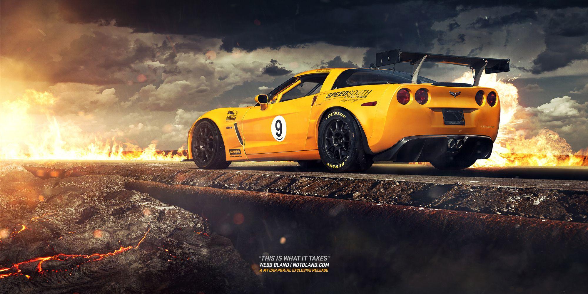 Corvette Wallpaper By NotBland Automotive graphy