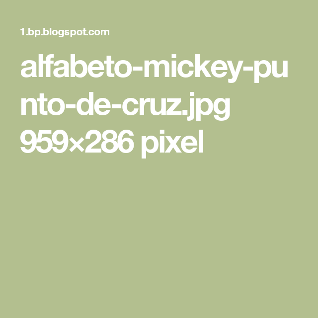 alfabeto-mickey-punto-de-cruz.jpg 959×286 pixel