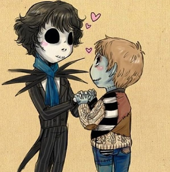 Jack & Sally/Sherlock & John! Is this a fanfic? Name pleeeeaaase???