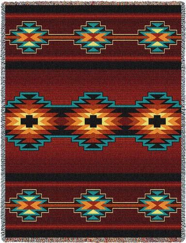 Southwest Design esme tapestry throw. these colors and design definitely say