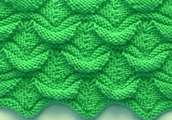 Wavy Knit Stitch Knitpatterns Pinterest Stitch Knitting