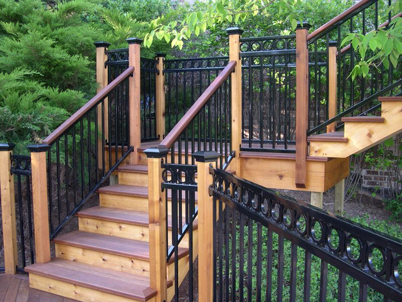 Wrought Iron Railing Alternatives Have The Classic Look Of Iron