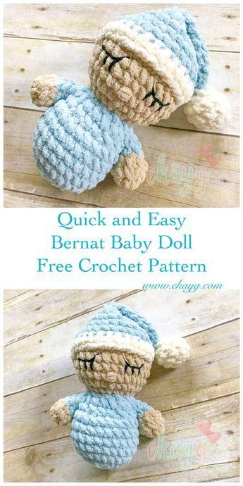 Bernat Baby Doll, Free Crochet Pattern | Crochet | Pinterest ...