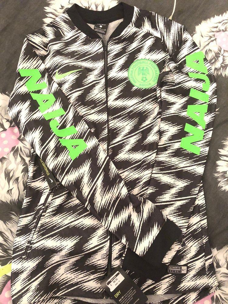 1397374c4fd12 Official Nigeria Kit Jacket | eBay | Nike Nigeria kit | Football ...