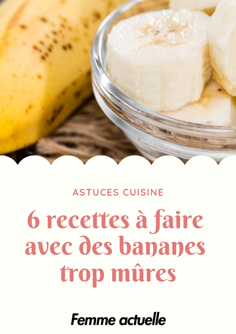 Dessert Bananes Trop Mures : dessert, bananes, mures, Recettes, Faire, Bananes, Mûres, Recette,, Mûres,, Cuisine