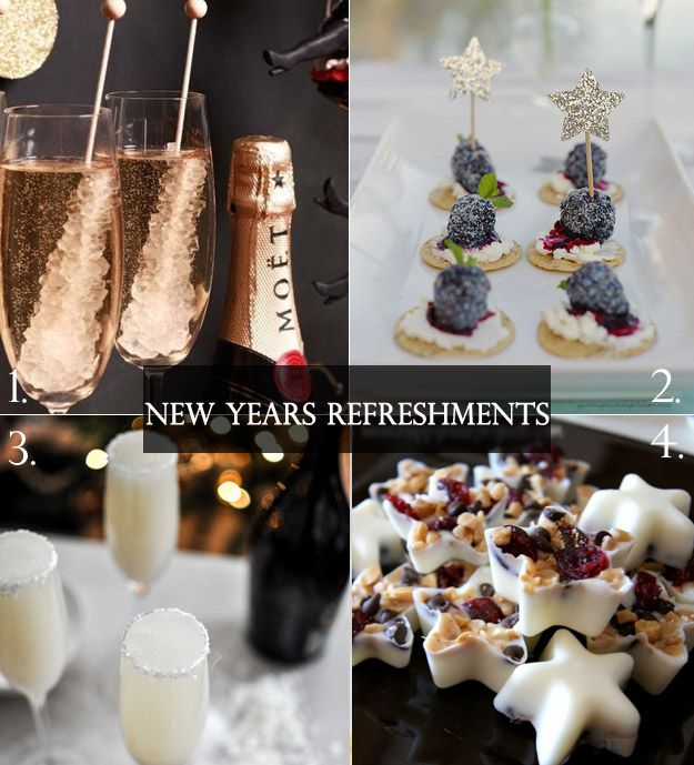 New Years Eve Cocktail Hour - Lucky in Love Wedding Planning Blog - Seattle Weddings at Banquetevent.com #cocktailhour #nyeparty