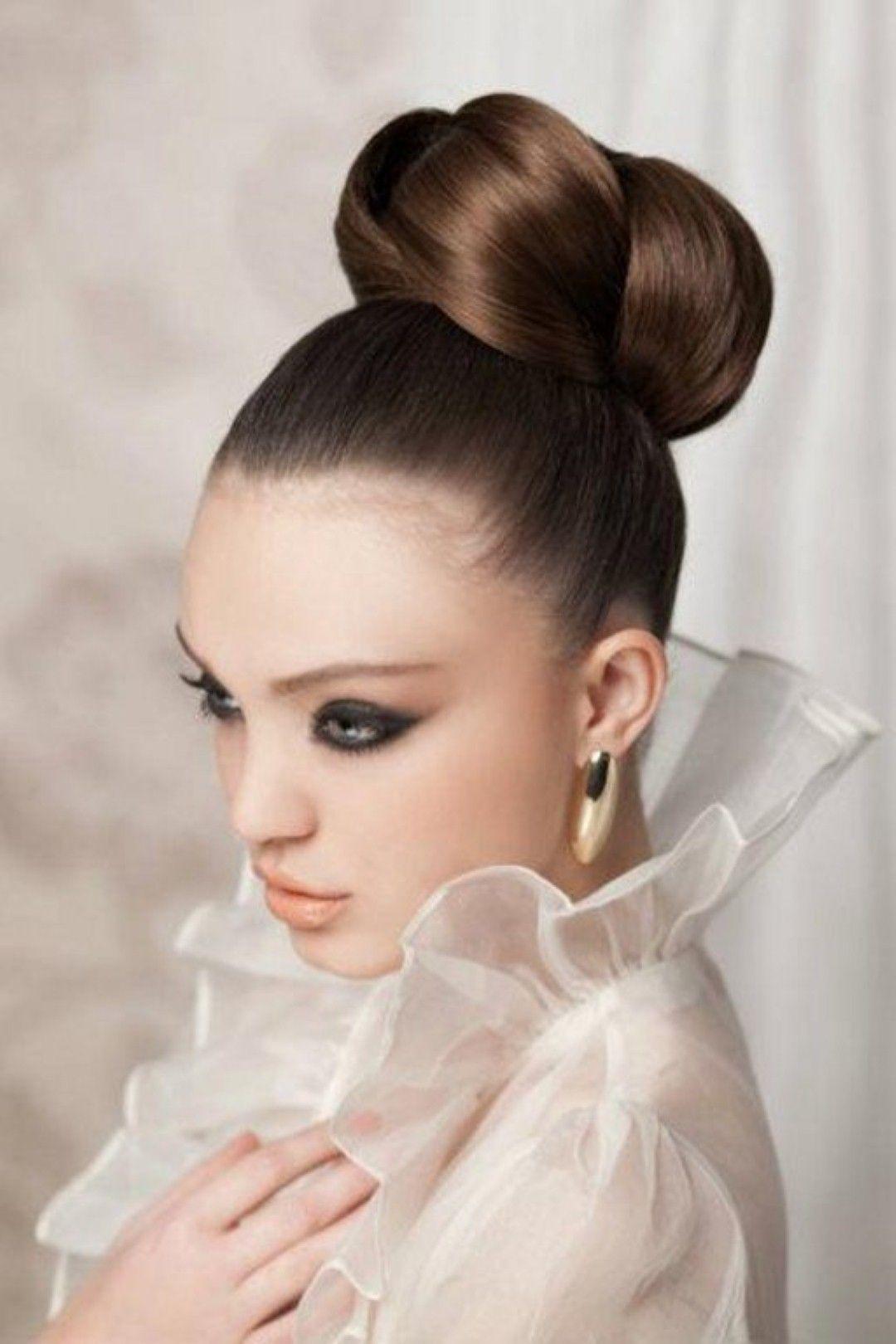 lovely long hairstyle for a wedding: ballerina bun | hair styles