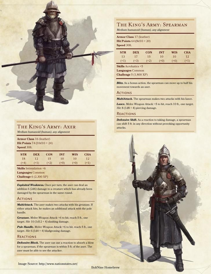 The King's Army: Axer and Spearmen                                                                                                                                                                                 More