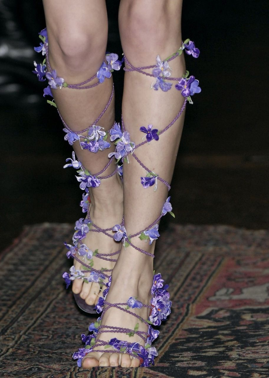 Are not at all casual, but very pretty. They almost look delicate to me. #fairyshoesdiy