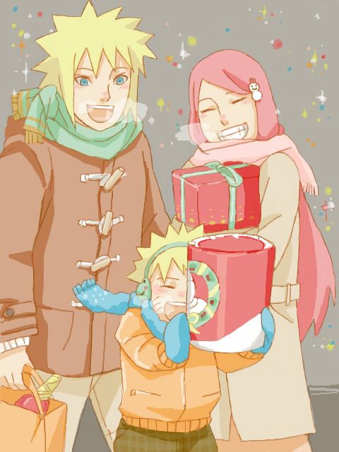 Merry Christmas with the Uzumaki-Namikaze family #naruti