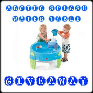 Nanny to Mommy: Arctic Splash Water Table Giveaway