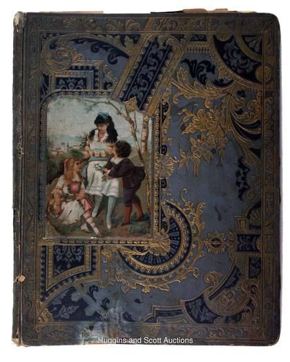 Victorian Era Scrapbook Album Victorian era, Victorian