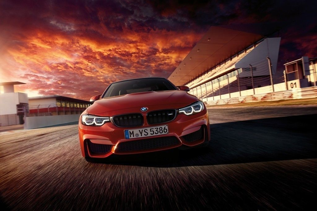 Luxury Car Red Cars Bmw M4 Road Wallpaper With Images Bmw