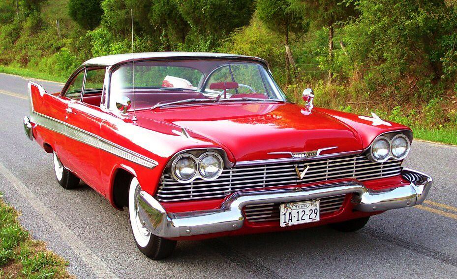 1958 Plymouth Fury Christine - The legend lives on (With images ...