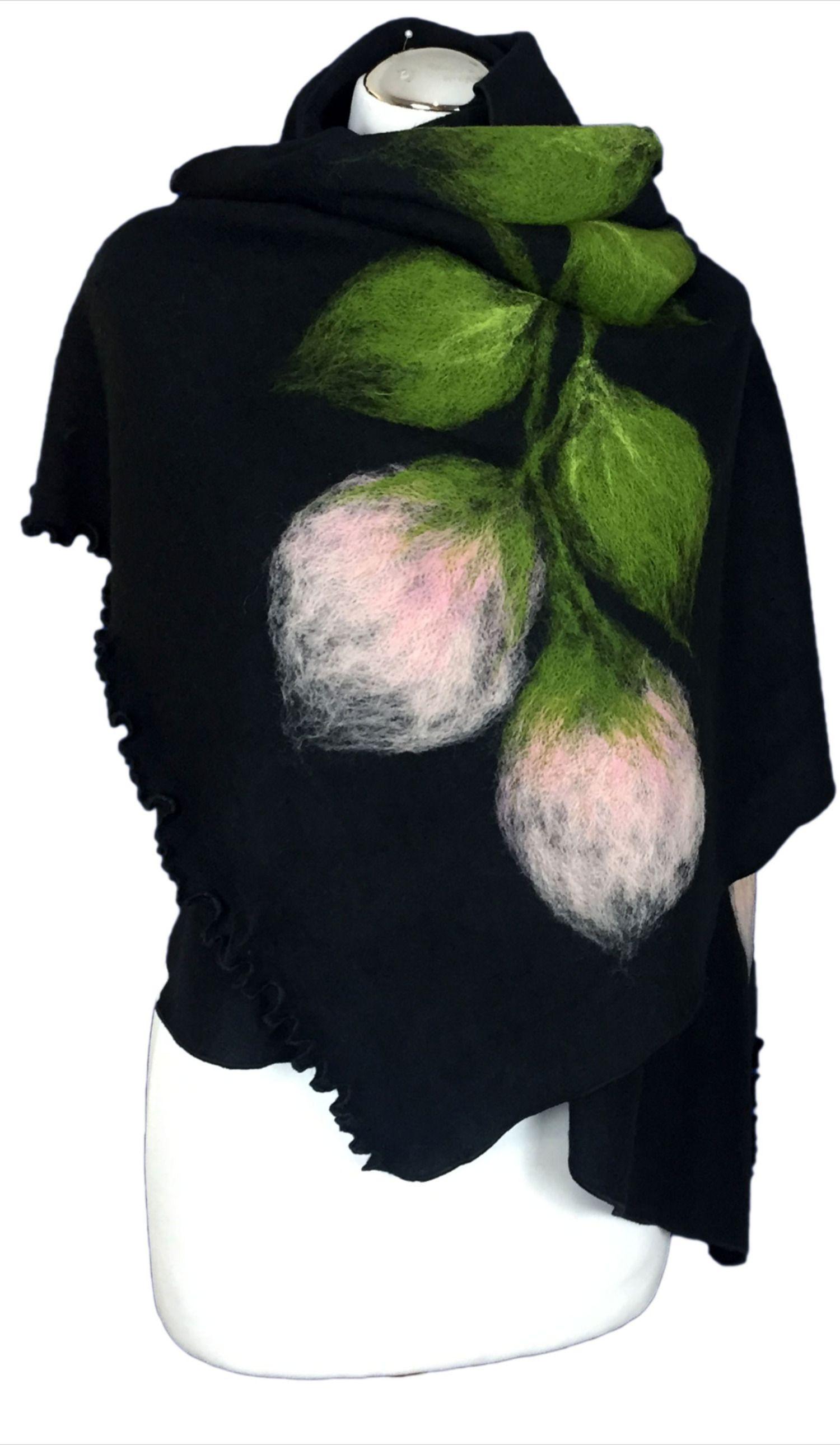 Szal Duzy Wzor Filcowany Welna Model S2 8699582955 Oficjalne Archiwum Allegro Fashion Poncho Sweaters