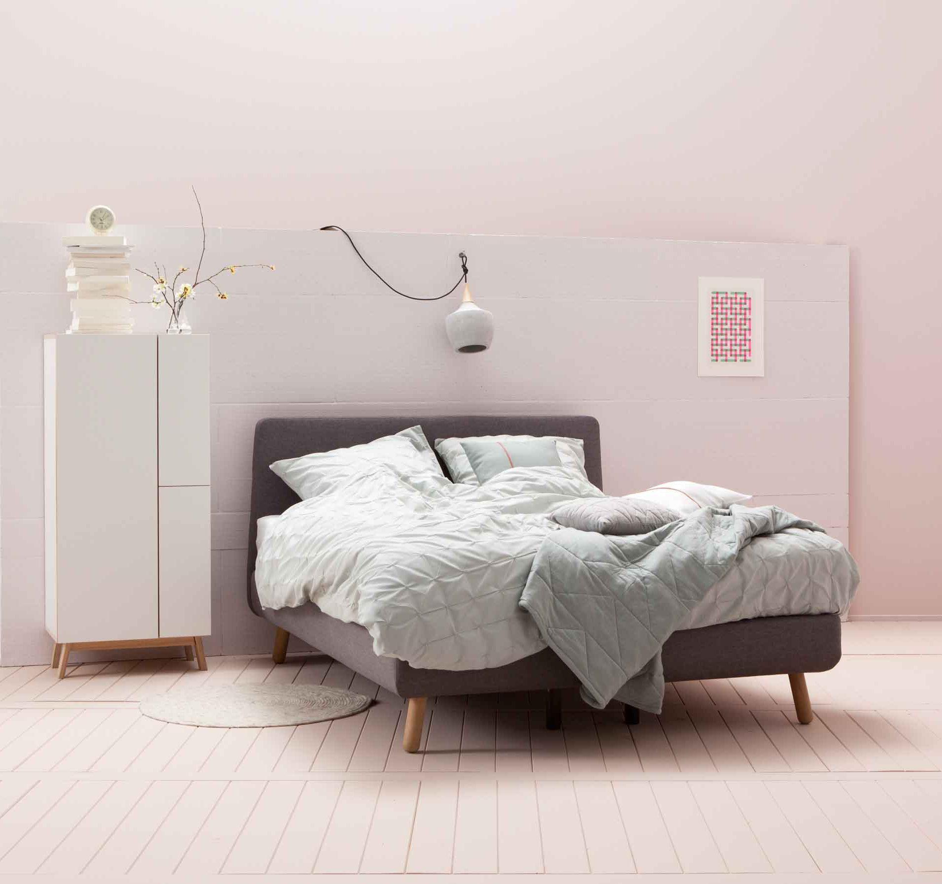 Om bij weg te dromen een romantische lichte slaapkamer slaapkamer