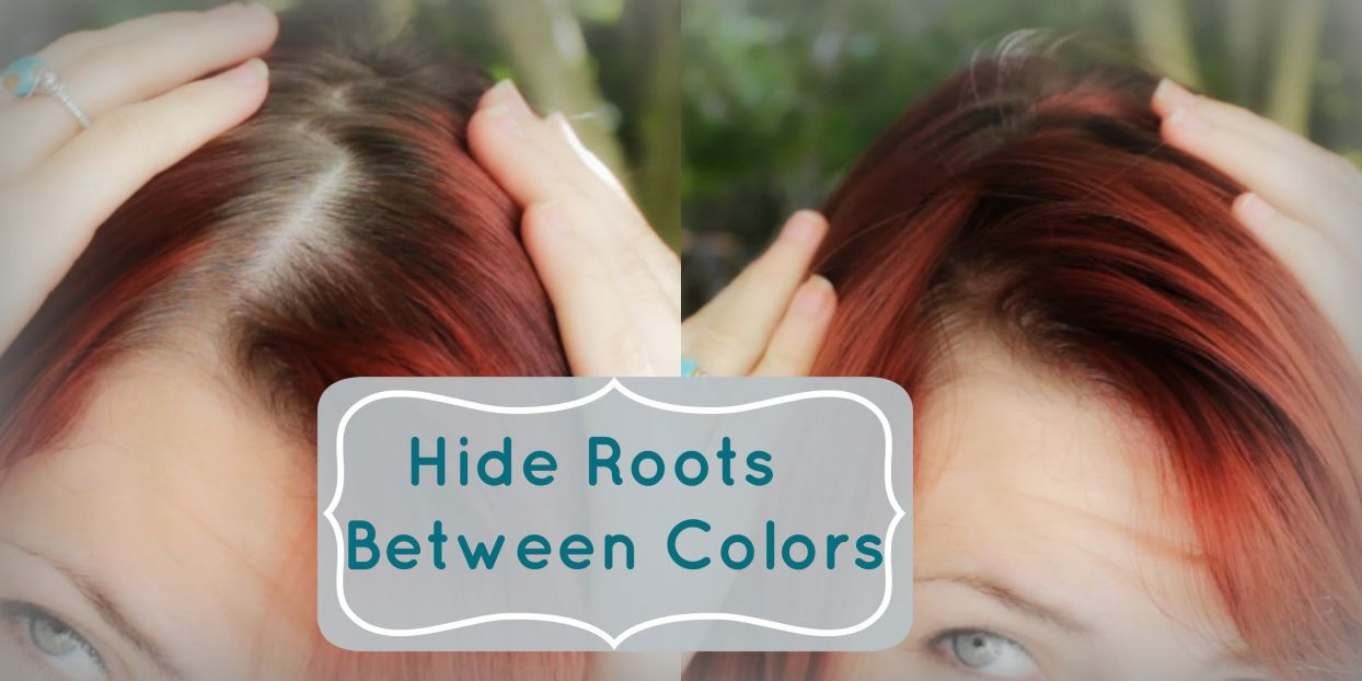 Cover Up Gray Roots Between Hair Colorings - Best Color to Dye ...