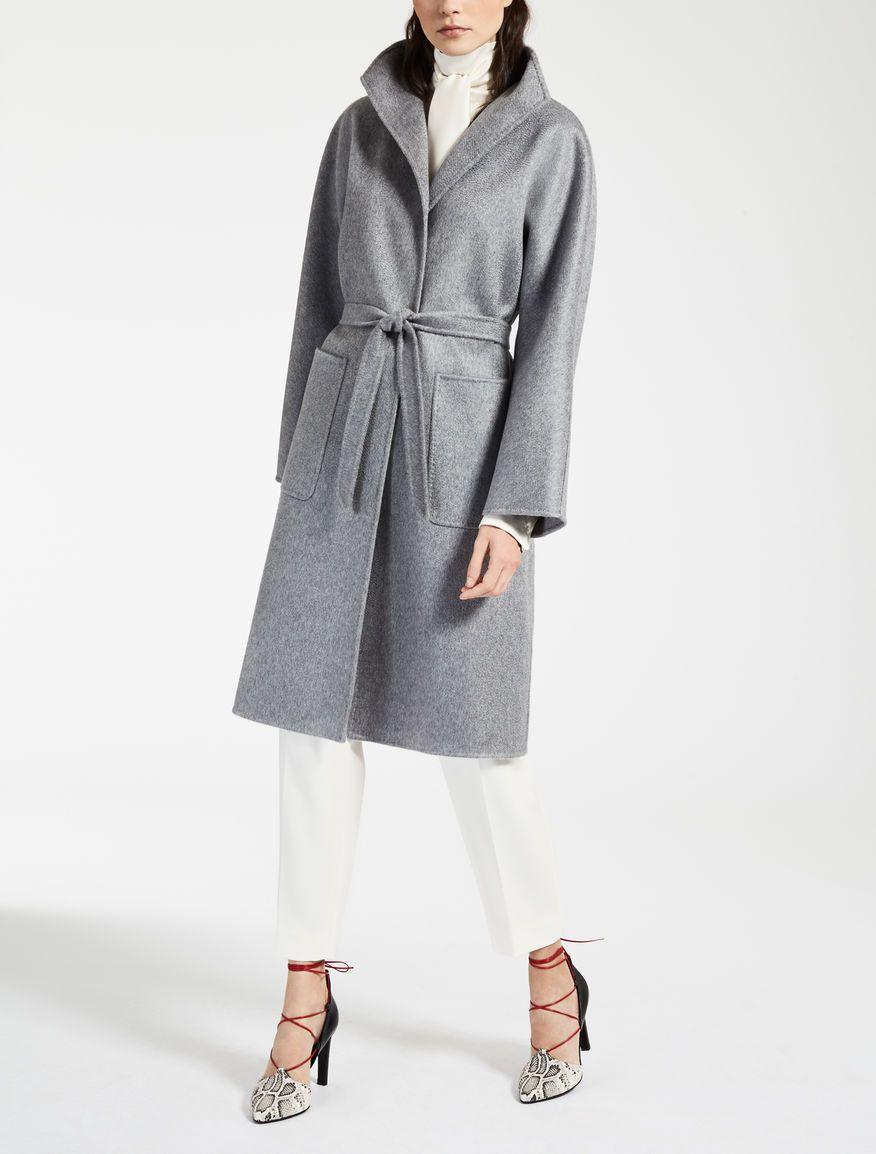 Cashmere coat, light grey - LILIA Max Mara