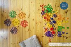 Tutorial Mandala mit Kindern legen Spielgaben