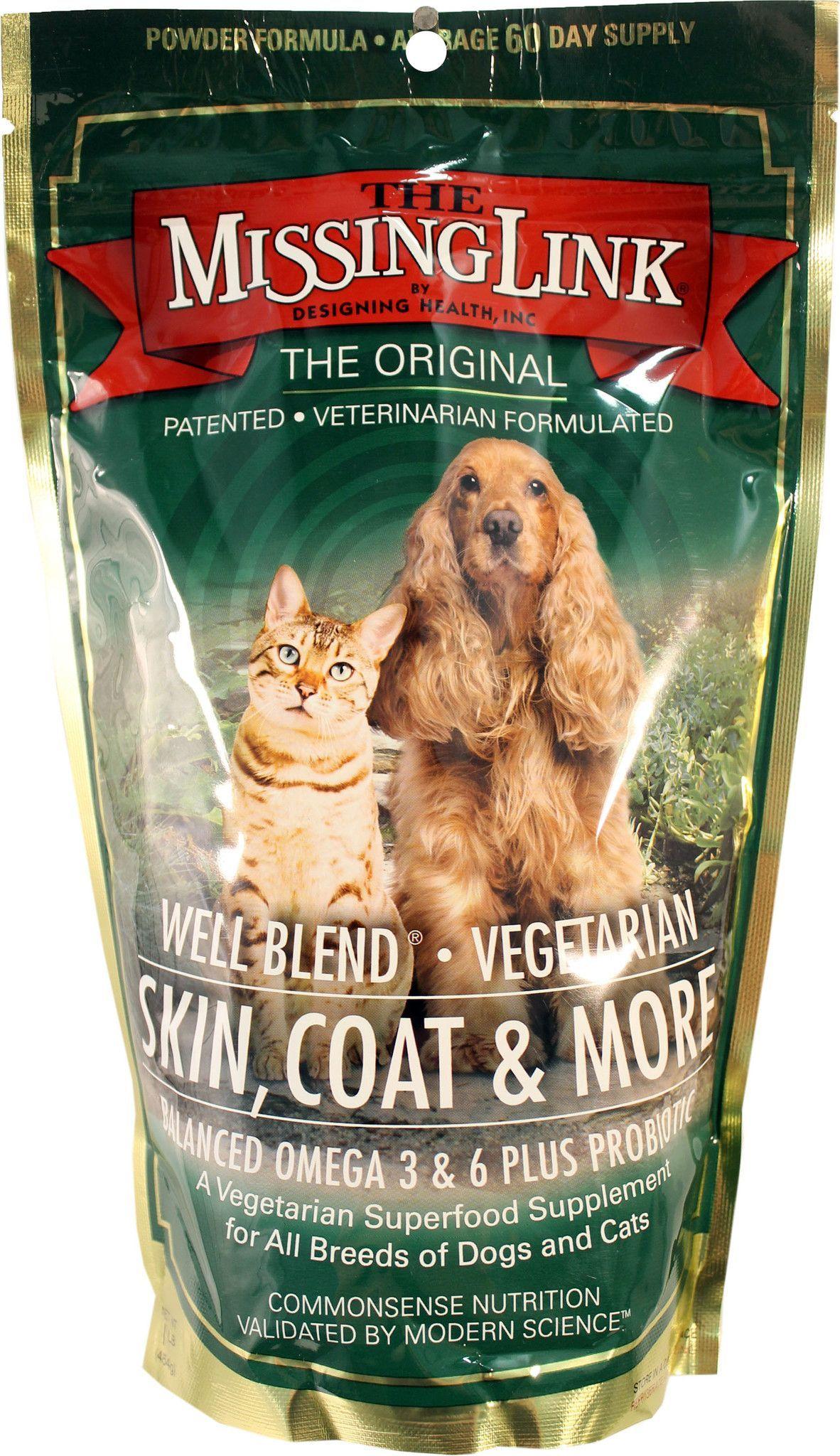 Missing Link Vegetarian Skin Coat For Dog Cat Vegetarian Skin Dog Nutrition Dog Cat