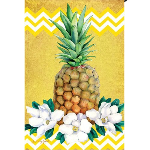 Exceptionnel Pineapple Garden Flag
