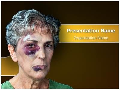 Check out our professionally designed Elder #Abuse #PPT template. Download our Elder Abuse #PowerPoint #theme affordably and quickly now. This royalty #free Elder Abuse Powerpoint #template lets you edit text and values and is being used very aptly for Elder Abuse, #brutality, #contusion, #cruelty, discoloration, domestic #violence and such PowerPoint #presentations.