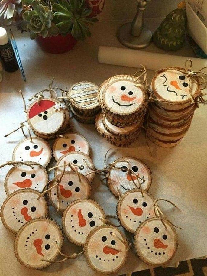 DOJO Designs Snowman Christmas ornaments on Mercari
