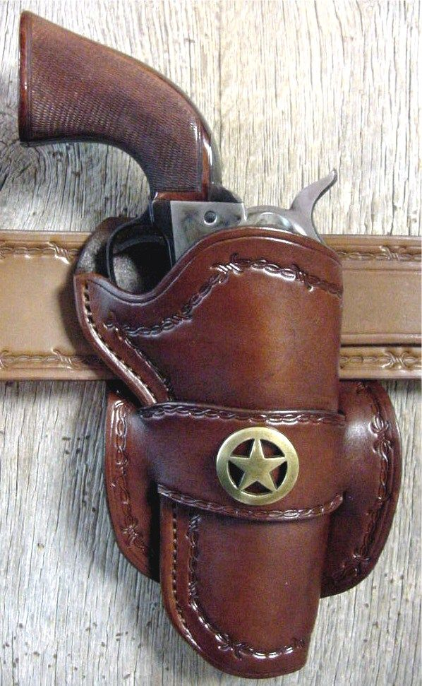 Western Leather Holster With Images Cowboy Holsters Western