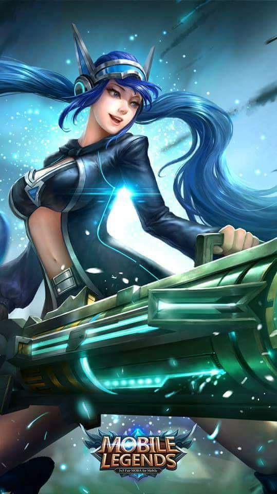 Wallpaper Mobile Legends New Hd For Smartphone And Ios  Anime Gadis Cantik, Gambar -7860