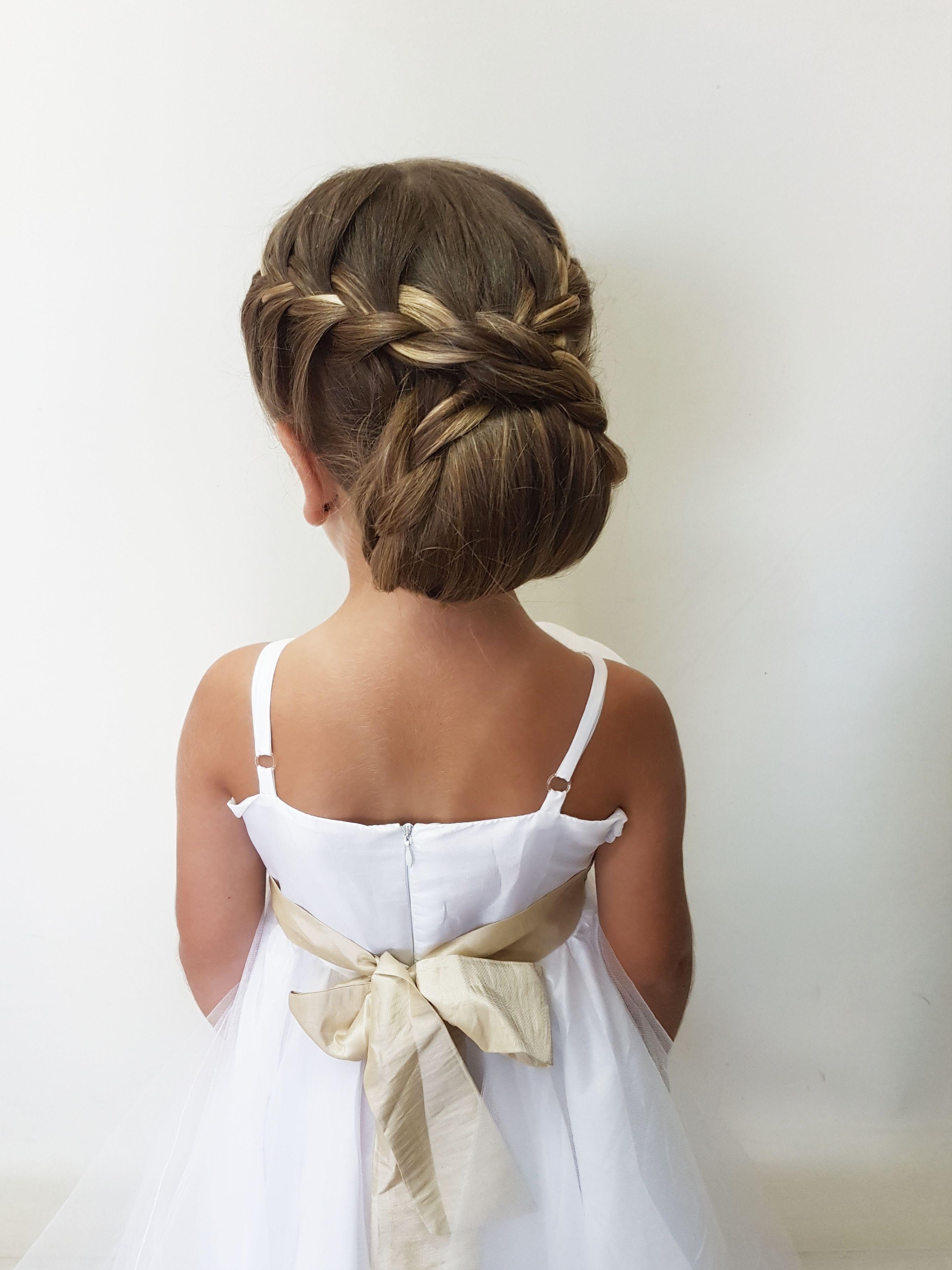 Phenomenal Pin By Christine On Hair Kids Hairstyles For Wedding Schematic Wiring Diagrams Amerangerunnerswayorg